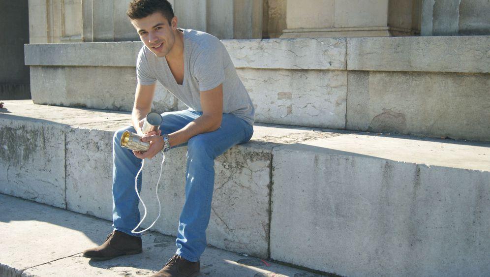 Hilfe für Flüchtlinge: Student tauscht sich hoch