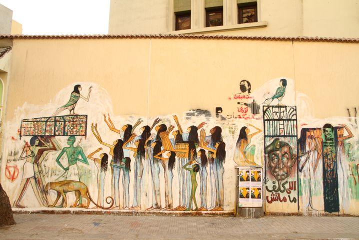 Street-Art in Kairo: Inspiriert von altägyptischer Kunst