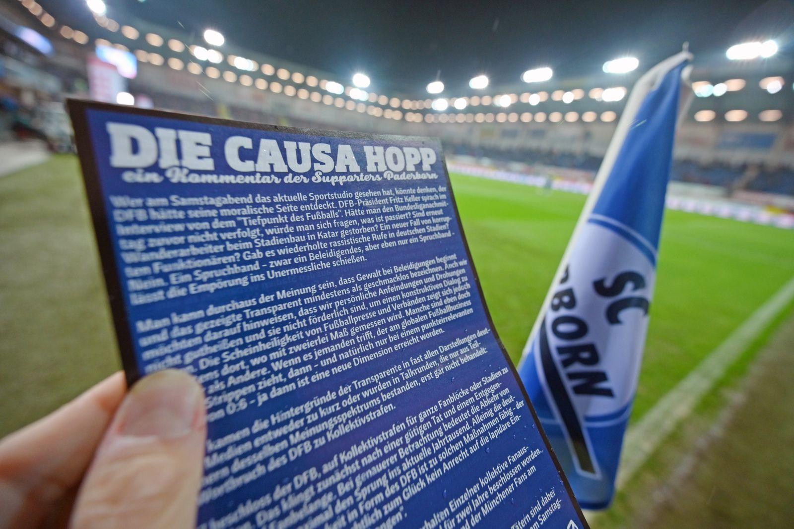 SC Paderborn 07 v 1. FC Koeln - Bundesliga