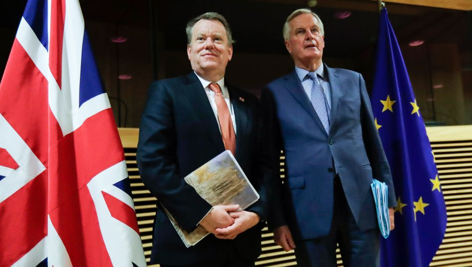 Unterhändler Frost, Barnier: Wenig Optimismus