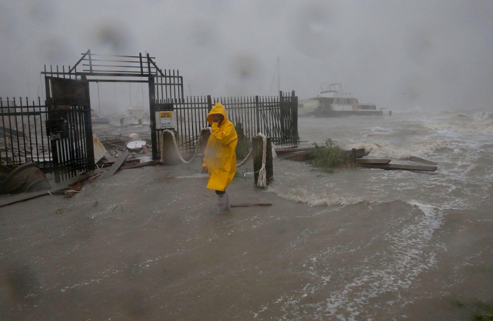 Hurrikan «Hanna» trifft in Texas auf Land