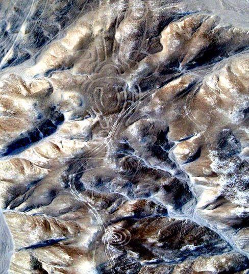 Geoglyph: Die Figur im Süden des Nazca-Plateaus ist nur aus der Luft zu erkennen