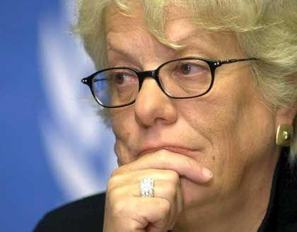 Ex-Staatsanwältin Carla del Ponte: Zu ihrem Bedauern muss sie schweigen
