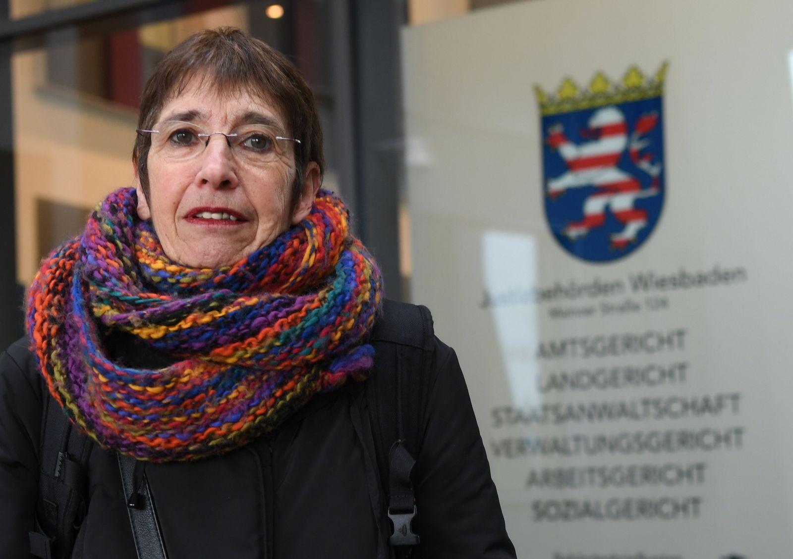 Silvia Gingold klagt gegen Land Hessen