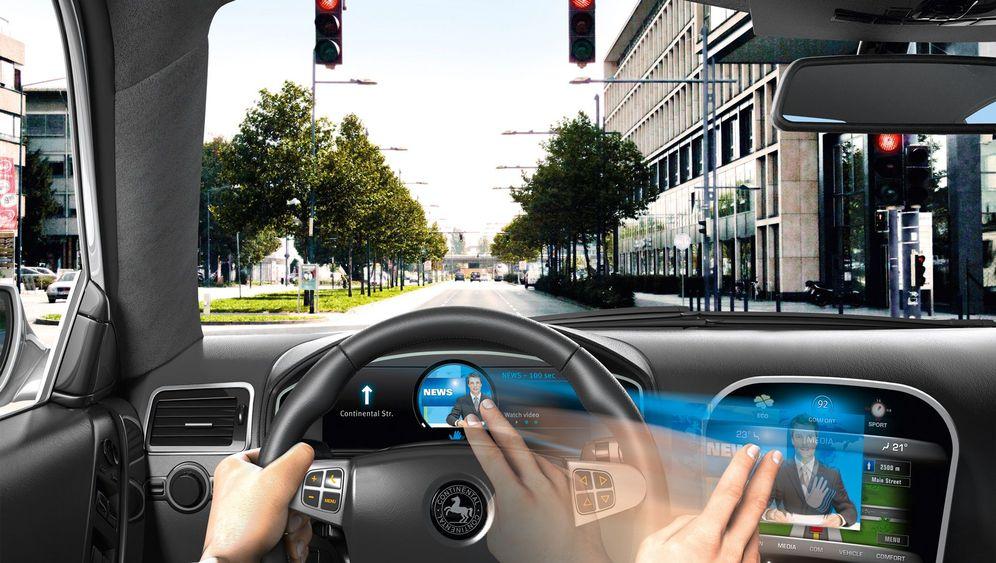 Gestensteuerung im Auto: Ein Wink genügt