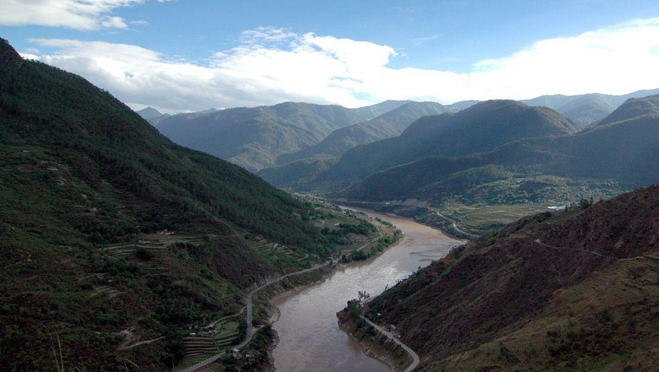 """Jangste-Fluss im Tal der Tigersprung-Schlucht: """"Wie eine riesige Badewanne"""""""