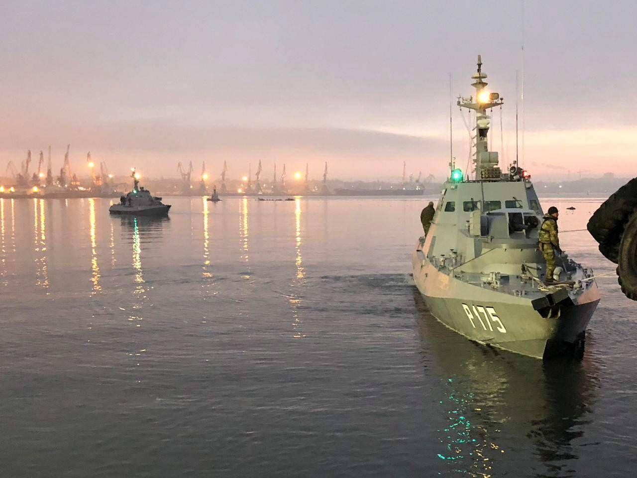 EINMALIGE VERWENDUNG PLUS SP 49/2018 S. 90 Ukraine Konflikt Boote Kertsch