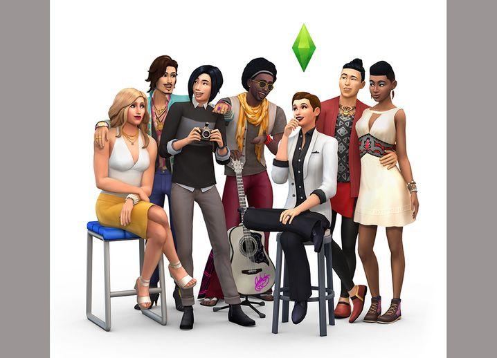"""Werbebild zum """"Die Sims 4""""-Update"""