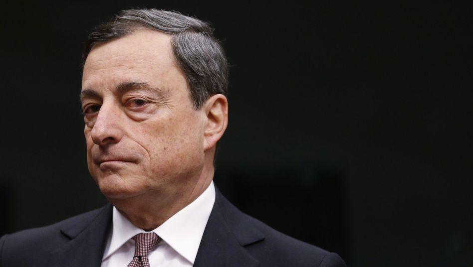 EZB-Chef Draghi: Überforderter Superheld