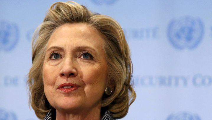 Präsidentschaftsbewerbung: Hillarys Aufstieg