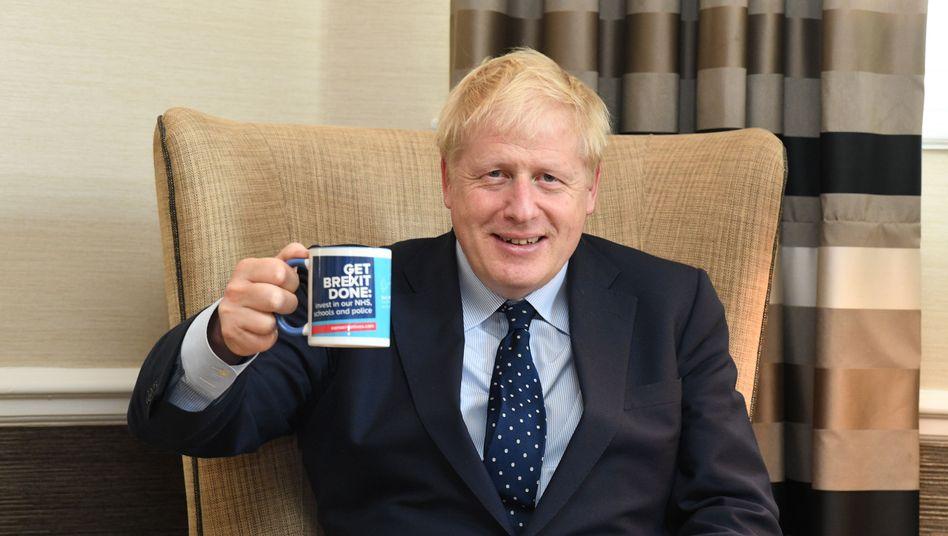 Boris Johnson: Get Brexit done.