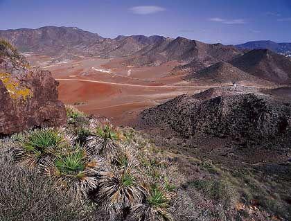 Eines der letzten unberührten Naturparadiese Spaniens: Der Naturschutzpark Cabo de Gata fasziniert durch seine kargen Landschaften