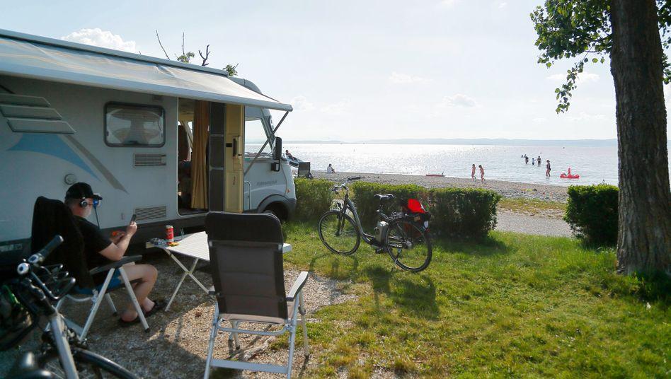 Camping am Neusiedler See in Österreich: Unkonventionelle Ziele suchen