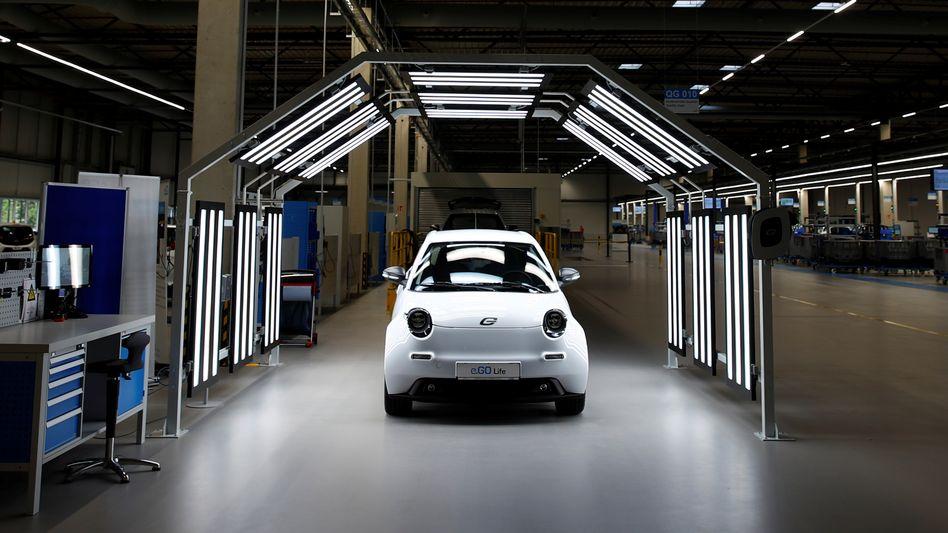 Elektroautohersteller e.Go kritisiert neue E-Auto-Kaufprämie