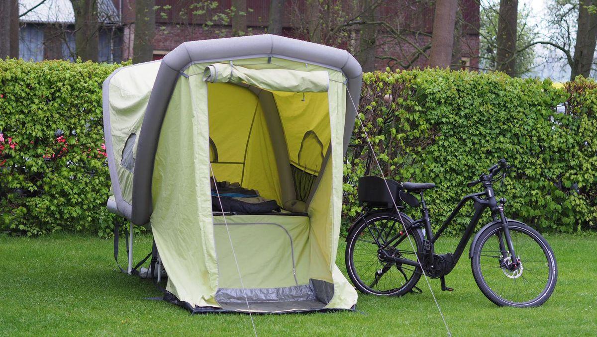 Camping mit dem Fahrrad: Fahrradanhänger Mikro Caravan B