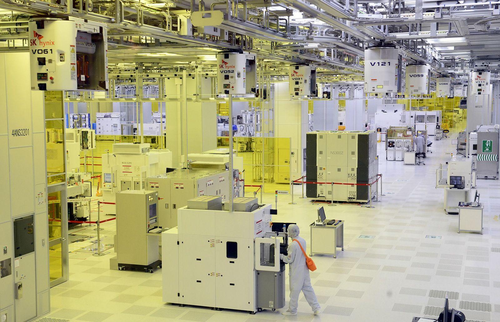 Chips/ Südkorea/ Fabrik