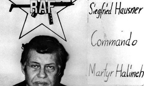 RAF-Logo: Die Todesnacht von Stammheim war die Geburtsstunde des Mythos vom Mord an Baader, Ensslin und Raspe