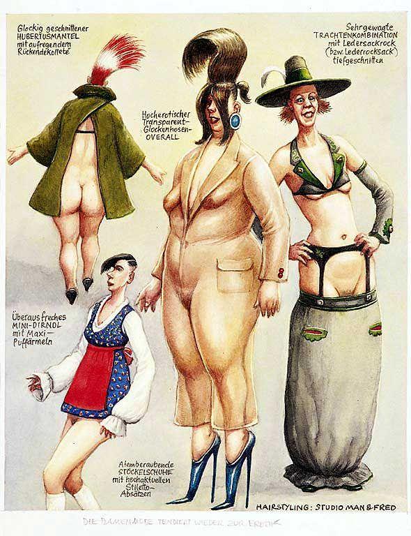"""""""Erotische Damenmode"""" (1995)"""