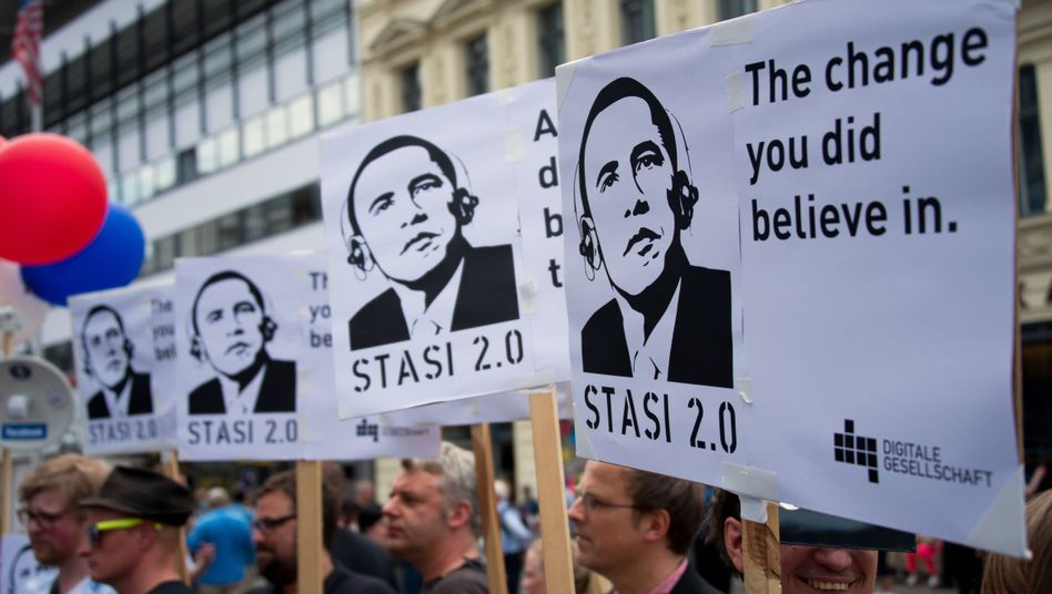 Should Germans really be so miffed about US surveillance?