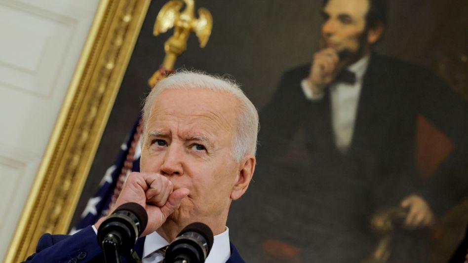 Joe Biden (am 18. Juni)