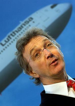 Lufthansa-Chef Mayrhuber: Luftverkehr trägt seiner Meinung nach wenig zur Schadstoffbelastung bei