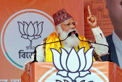 Indian Prime Minister Narendra Modi has positioned himself as a kind of father of the nation.