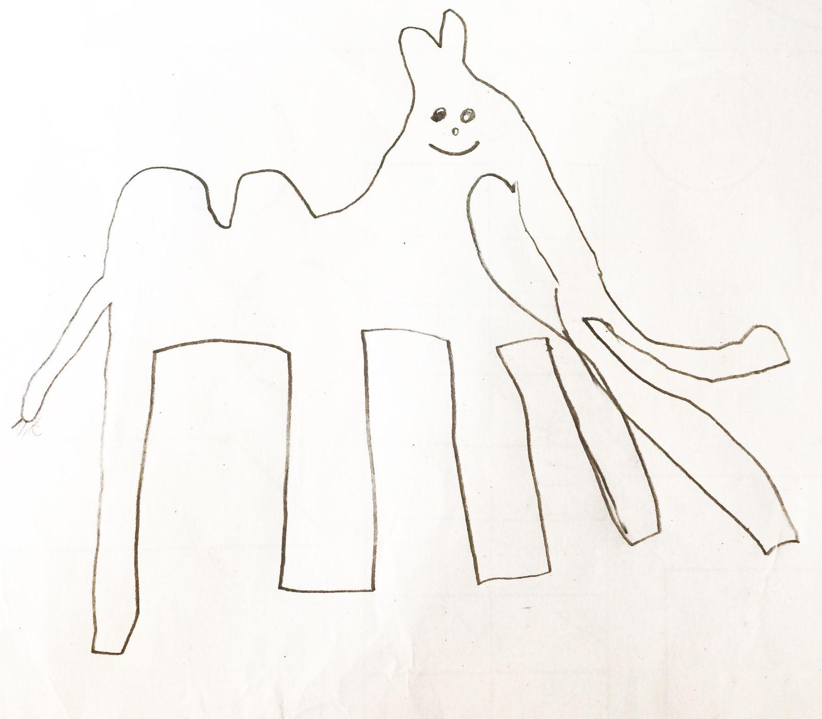 Das Kamel hat zwei Rüssel