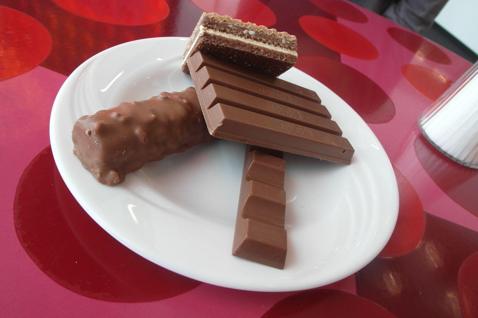 Schokolade / Schokoriegel