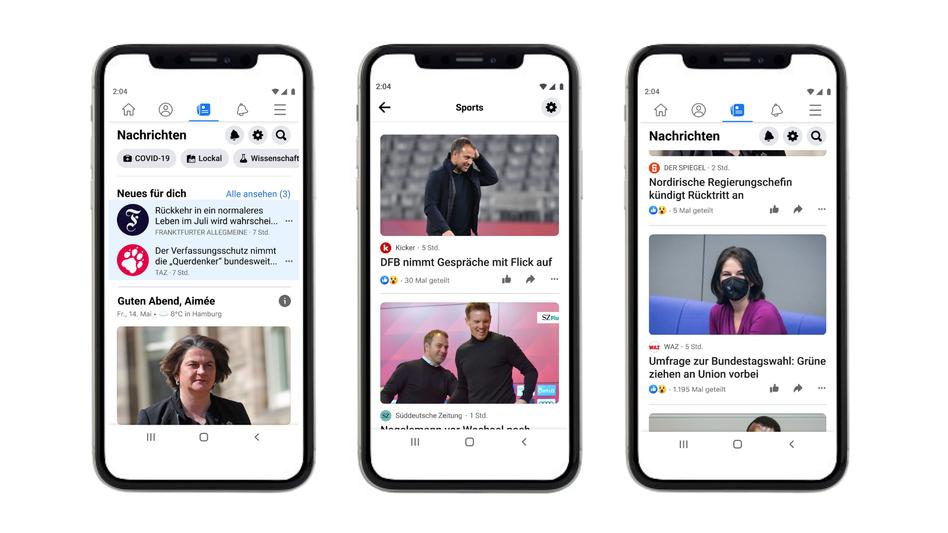 Facebook: In Deutschland bekommt die App einen neuen Bereich