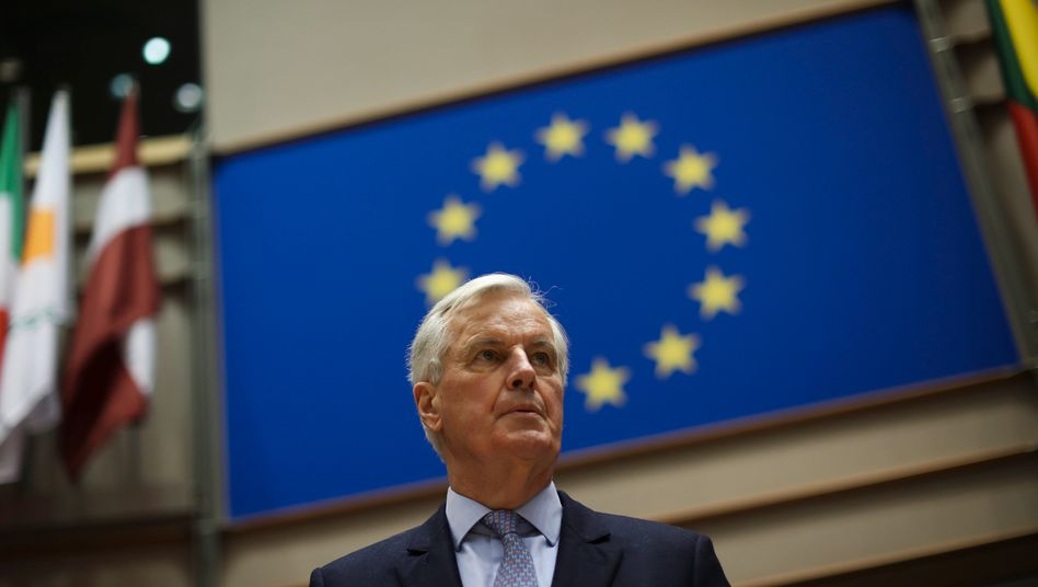 EU-Chefunterhändler Michel Barnier will in den Verhandlungen um das künftige Miteinander von EU und Großbritannien hart bleiben