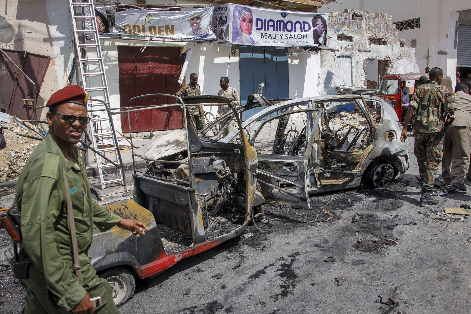 Schwere Explosion erschüttert Mogadischu
