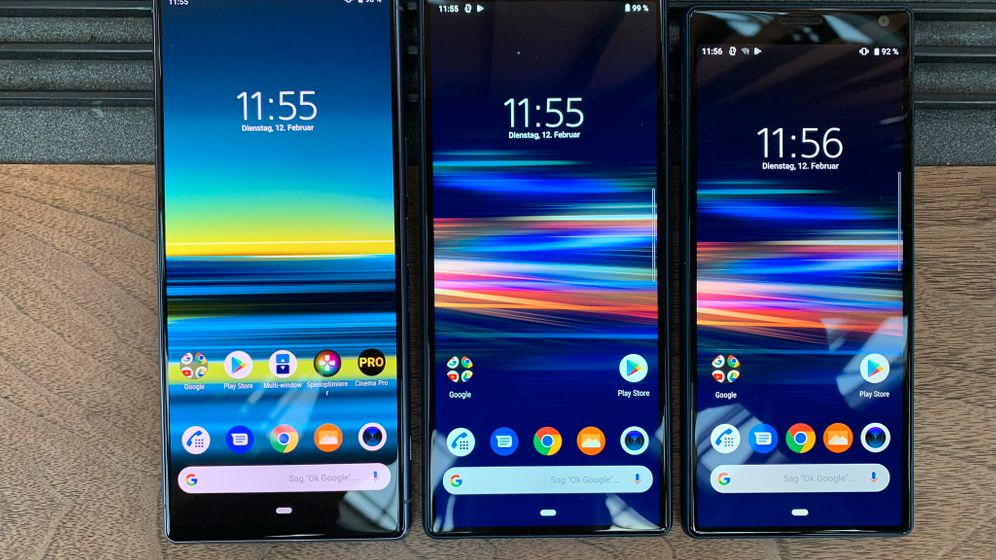 Xperia 1 und Xperia 10: Die neuen Sony-Smartphones im Cinemascope-Format