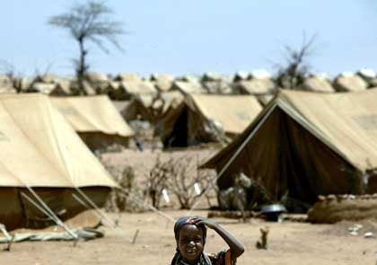 Refugees in Sudan.