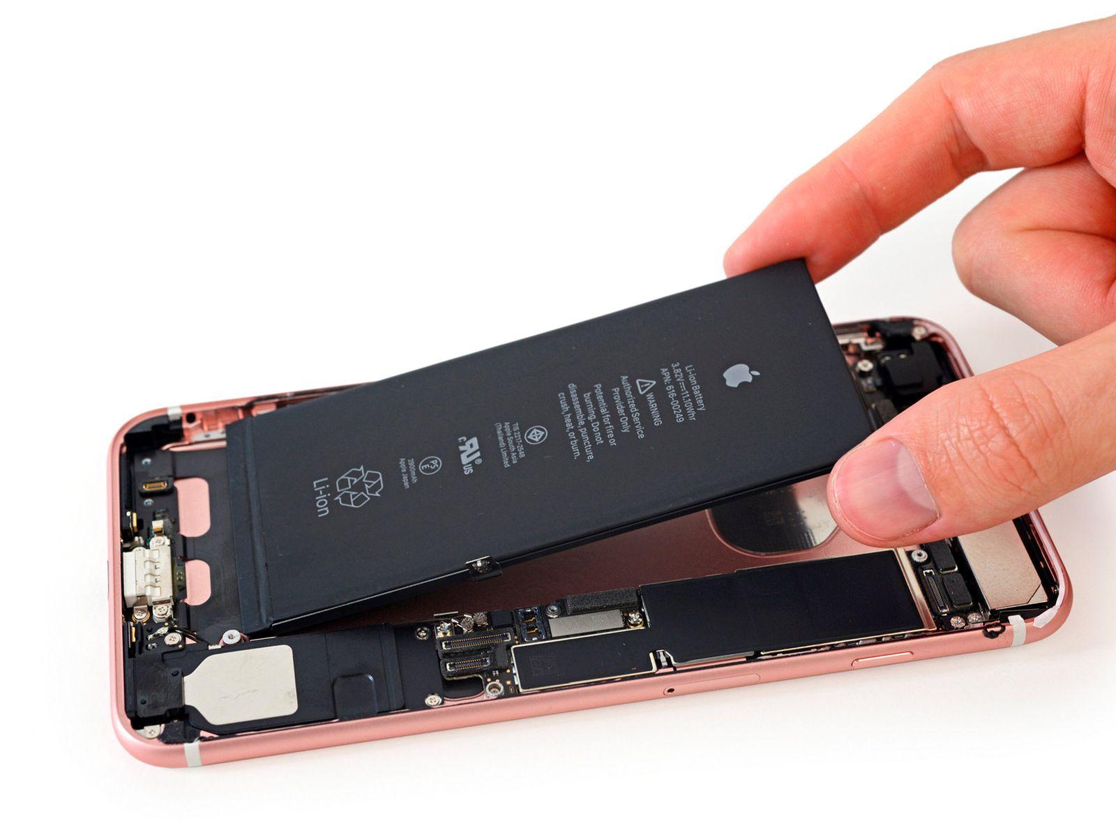 iPhone 7 Plus Akku iFixit