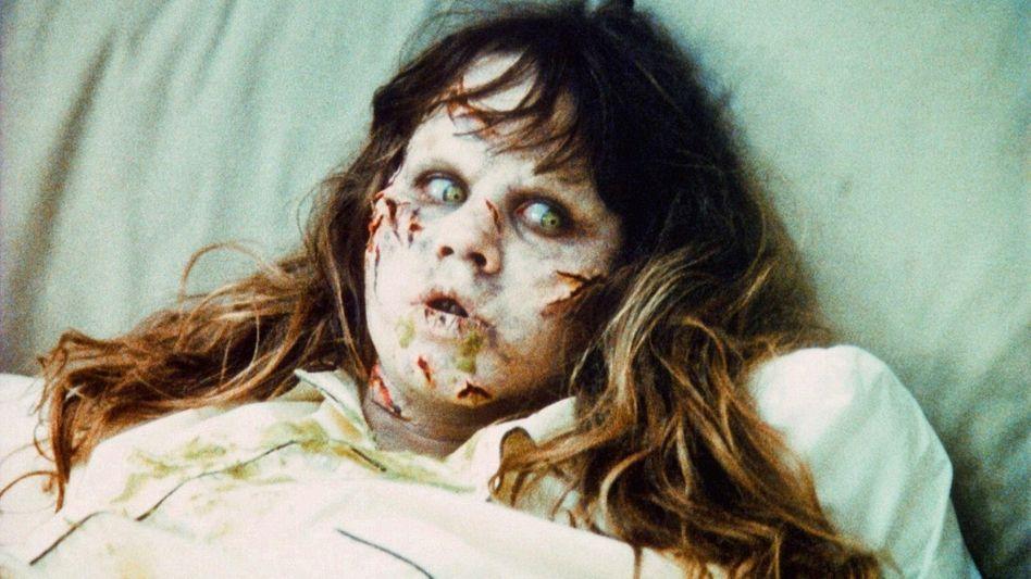 Linda Blair im Original »Der Exorzist« von 1973