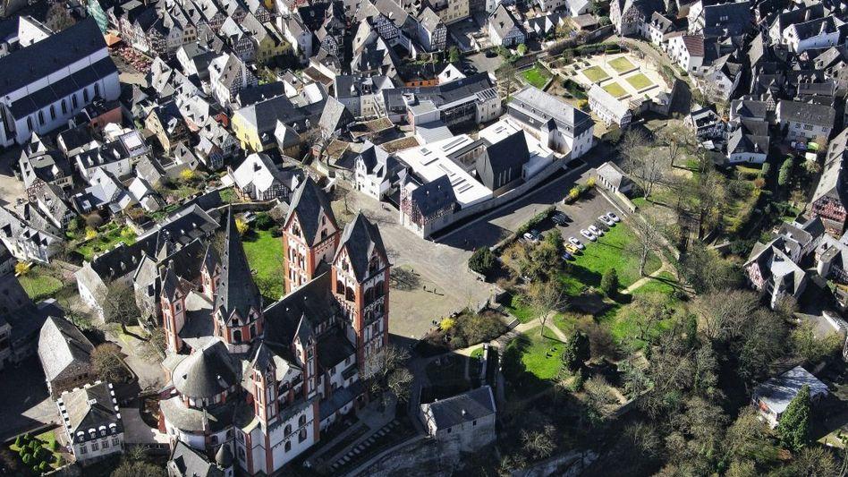 Dom und Bischofsresidenz in Limburg