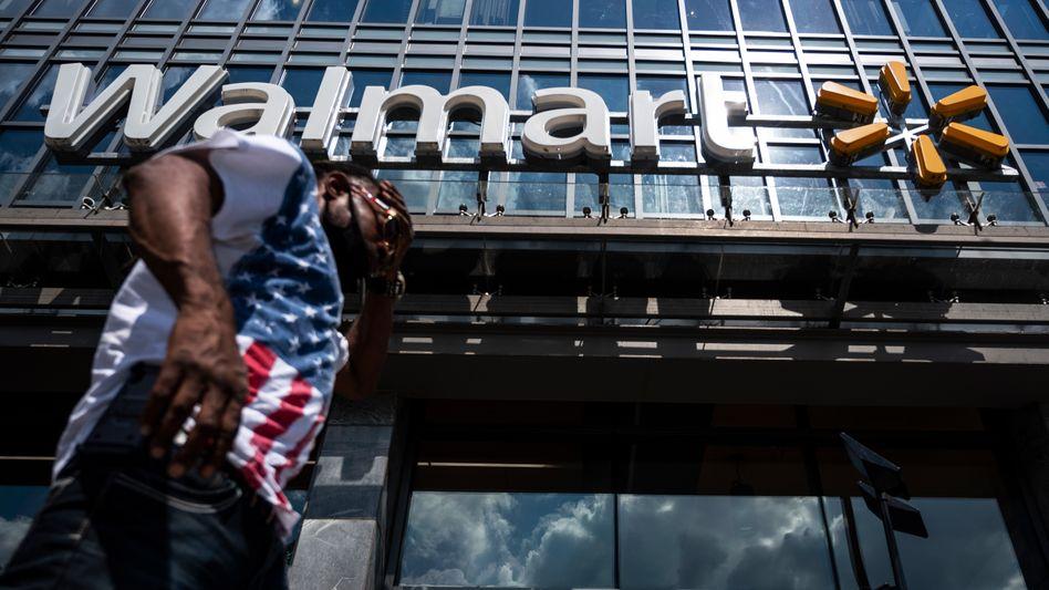 Alt, aber agil: Walmart-Filialen findet man in den USA überall