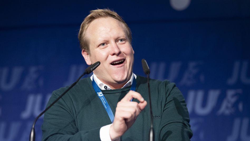 Tilman Kuban: JU-Chef sieht Belastung für jüngere Generationen