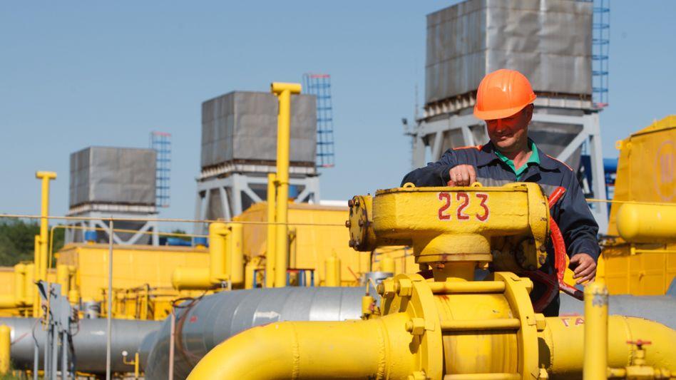 Gasspeicher in der Ukraine: EU-Kommissar Oettinger wenig optimistisch