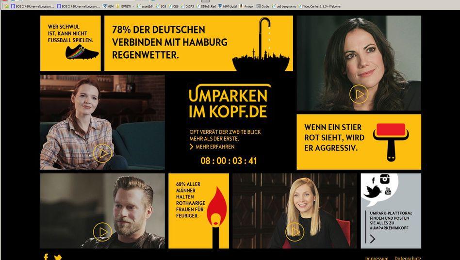 """Website """"umparkenimkopf.de"""": Die eigenen Vorurteile kritisch hinterfragen"""