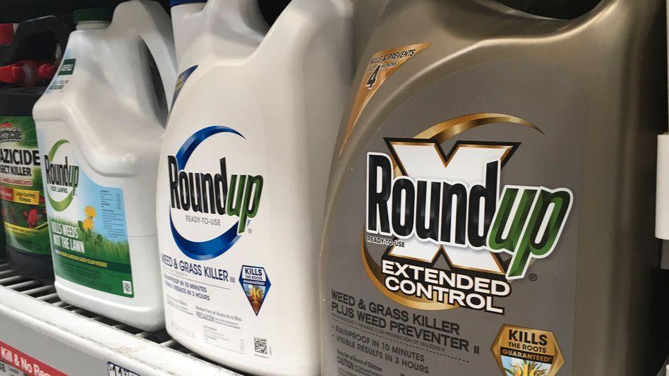 Roundup-Unkrautvernichter in Baumarkt in San Francisco (2019): Bayer muss um Vergleich zittern