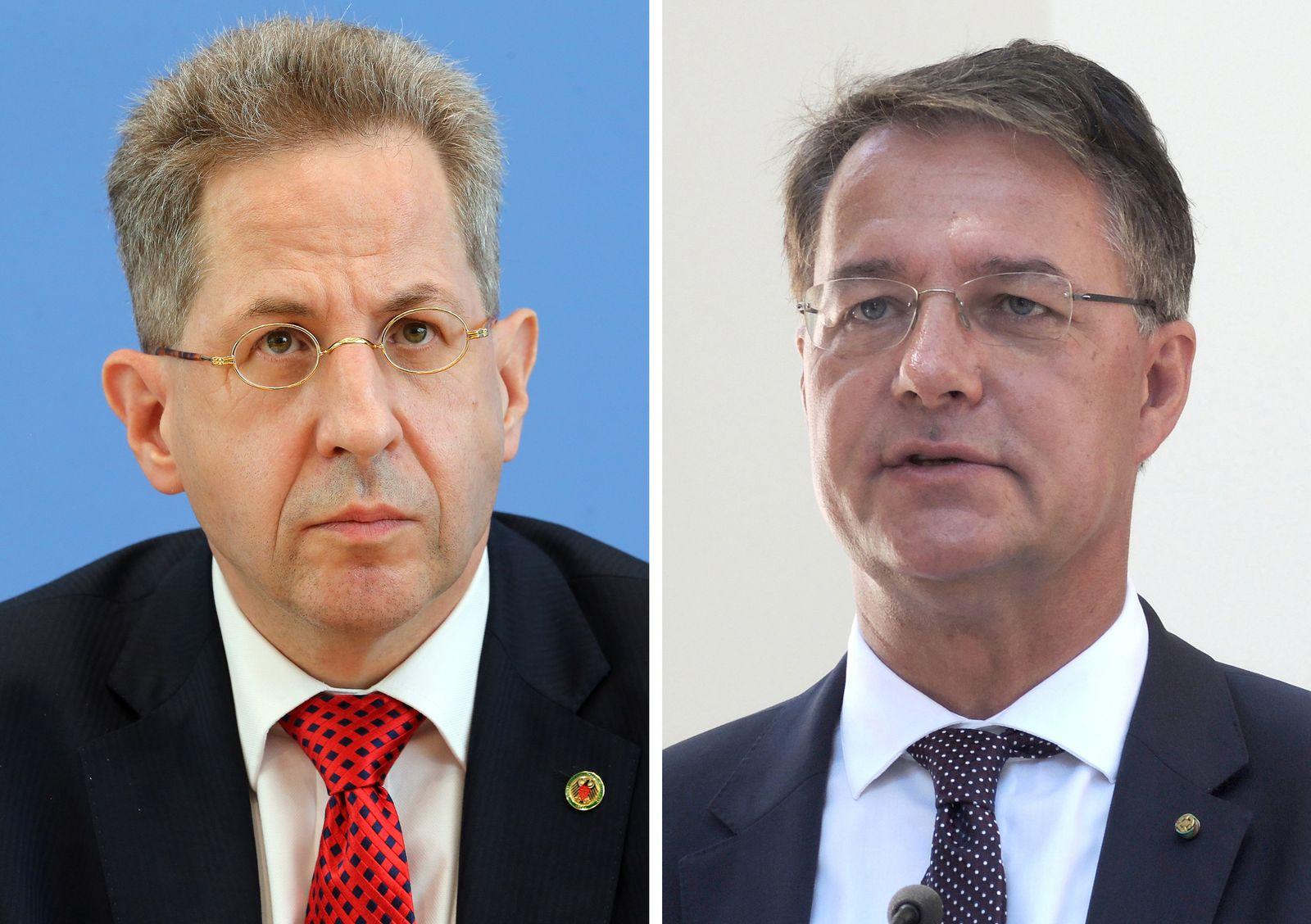 Hans-Georg Maaßen und Gunther Adler