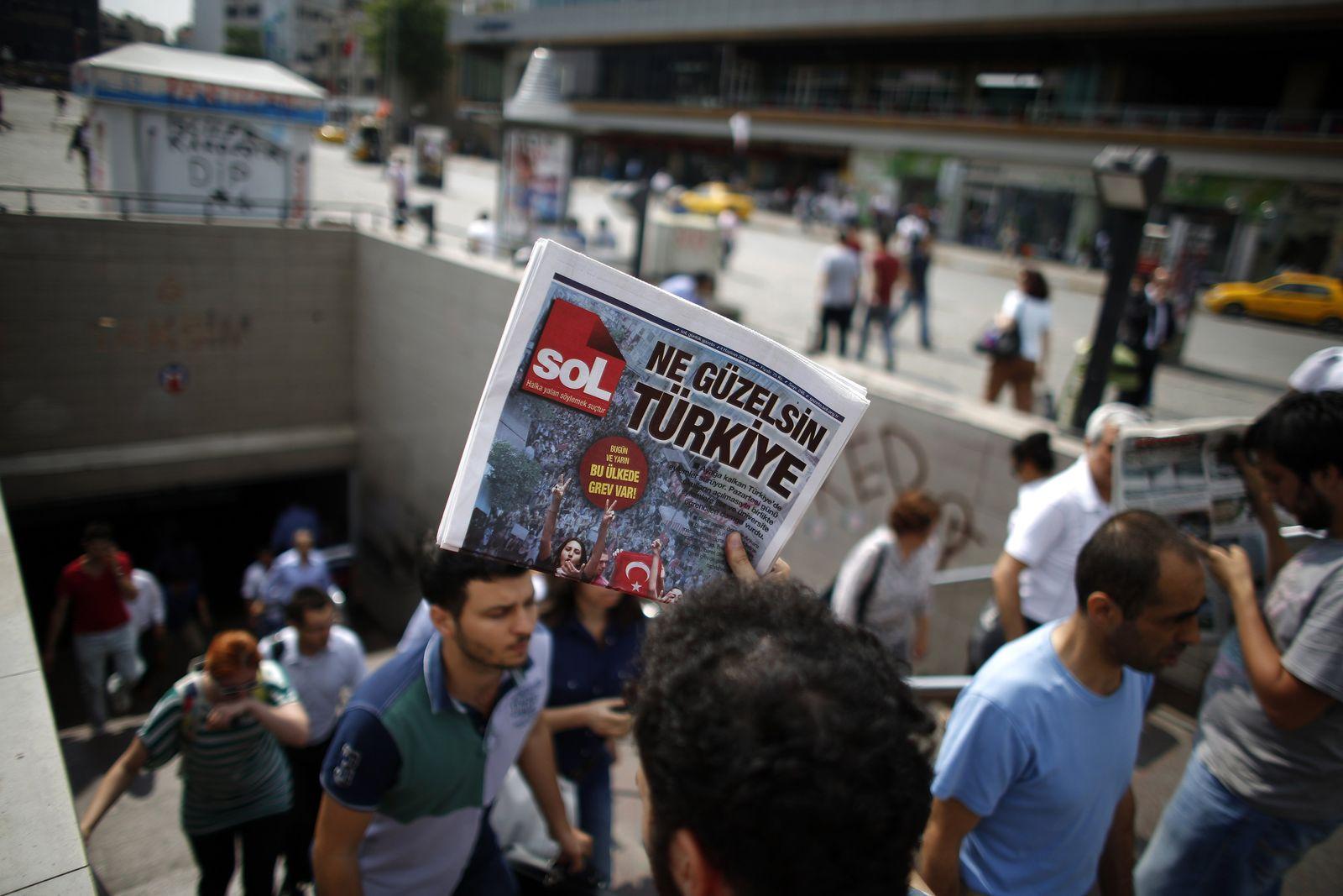 Istanbul / Streik / Gewerkschaft