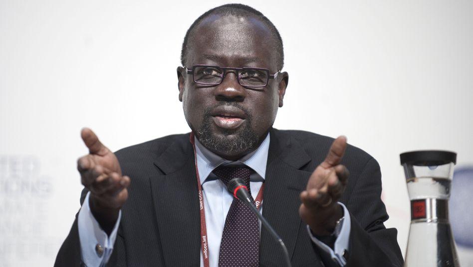 """Lumumba di-Aping: """"Die EU wirft uns Brotkrumen hin"""""""