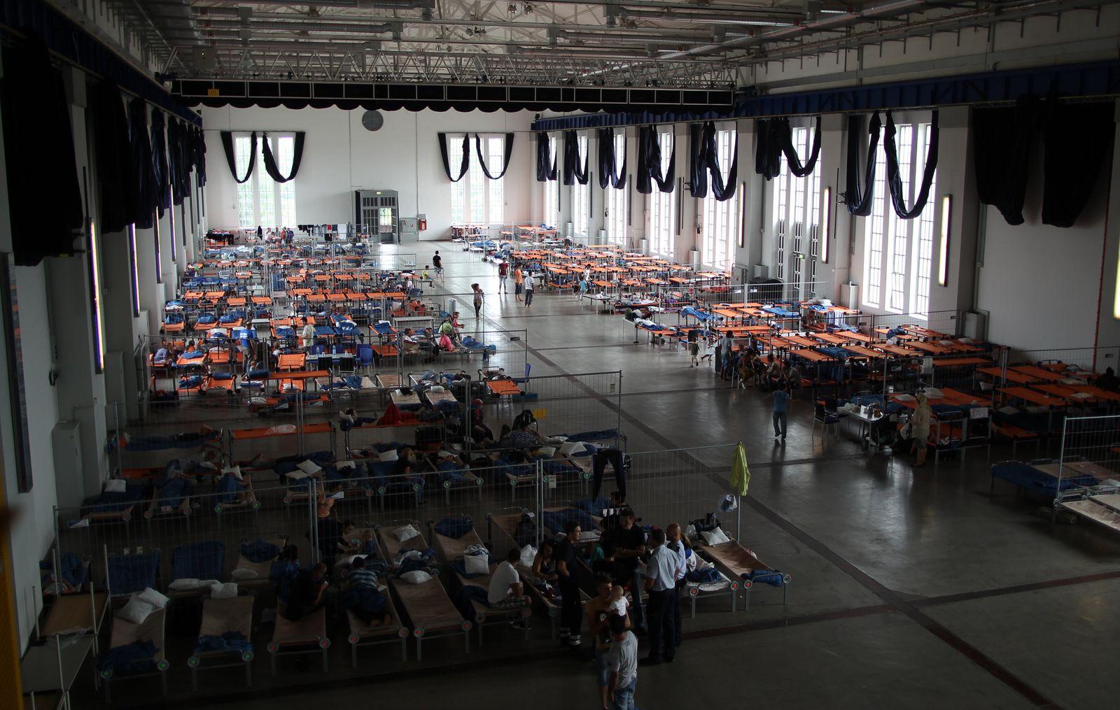 Flüchtlingsunterkunft in Hamm