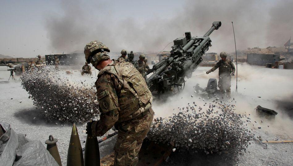 US-Truppen beim Kampf in Afghanistan (2011): Seit fast 20 Jahren ist die Weltmacht am Hindukusch im Einsatz