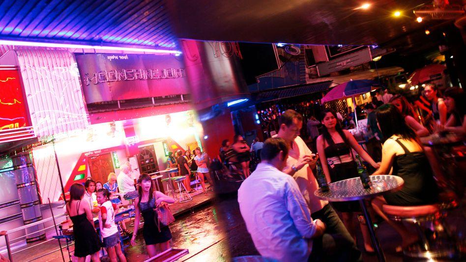 Rotlichtviertel von Bangkok: Eine Nacht voll Spaß