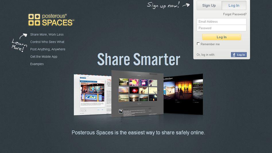 Homepage von Posterous: Nun 100 Prozent für Twitter