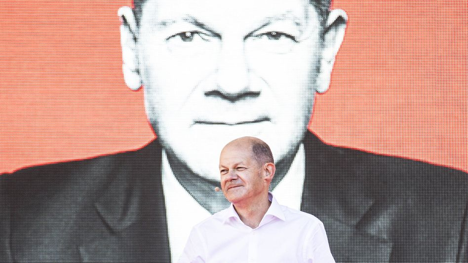 Kanzlerkandidat und Finanzminister: Olaf Scholz