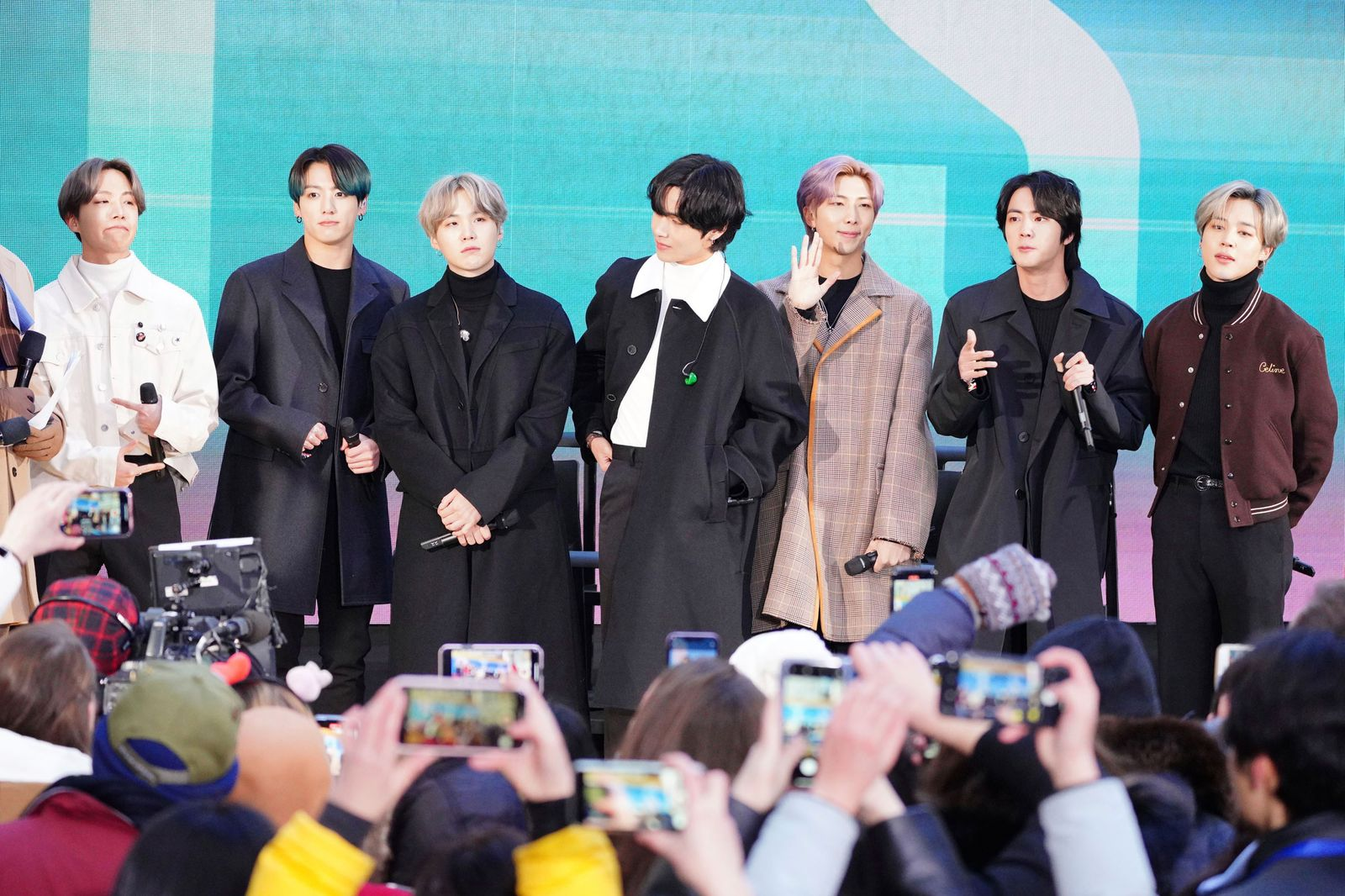 BTS visits The Today Show in New York City - 2/21/20